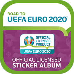 MyPanini Road to Euro Sticker